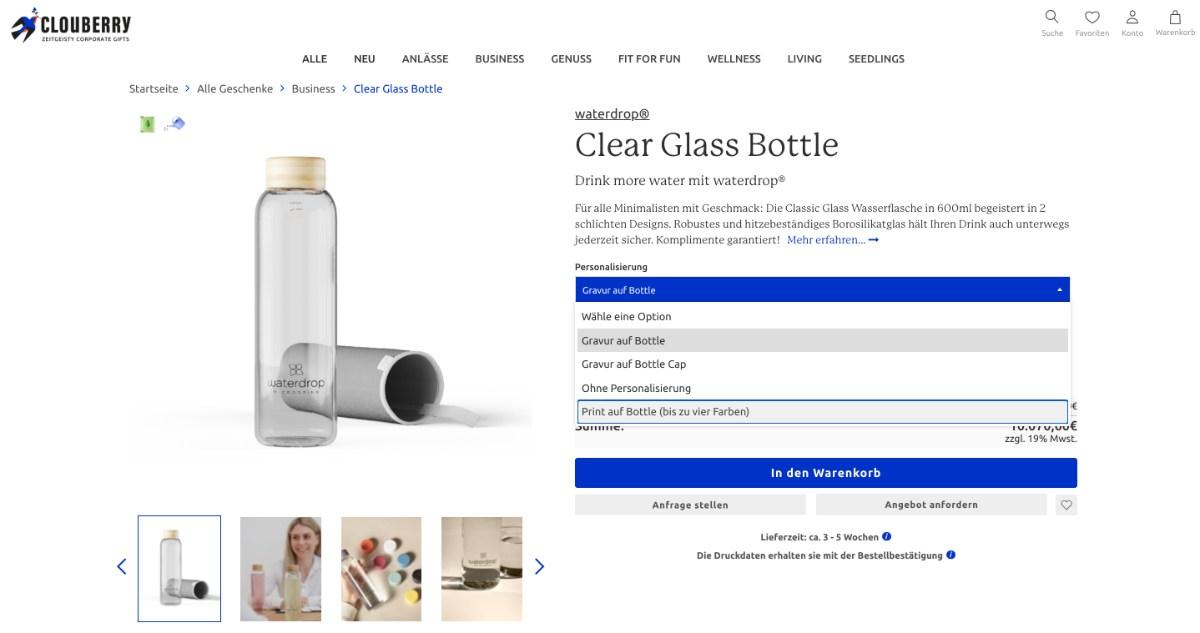 individualisierbare und zugleich nachhaltige Werbeartikel