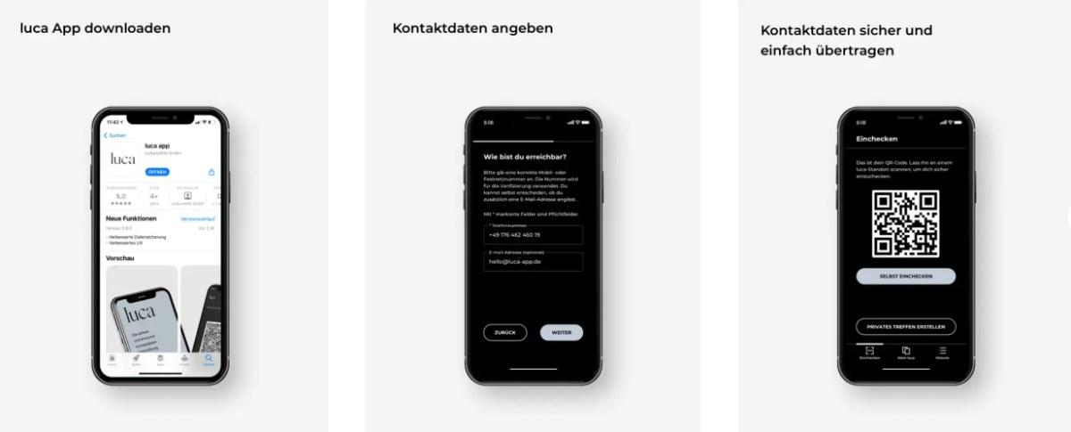 luca App Neuerungen