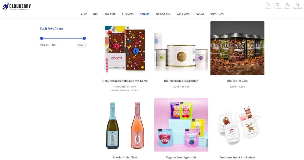 nachhaltige Werbeartikel bei clouberry