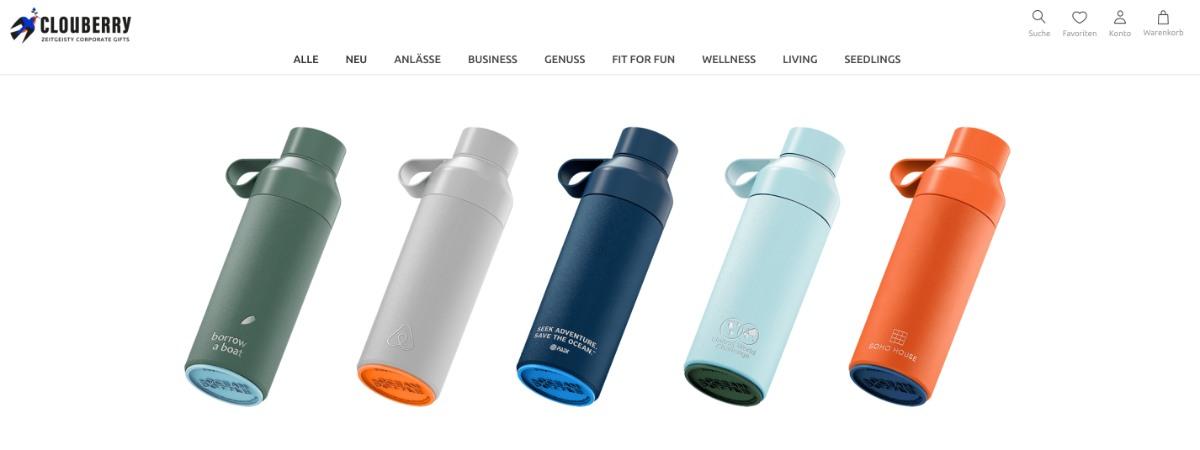 Ocean Bottle - die Mehrwegflasche aus recyceltem Meeresplastik