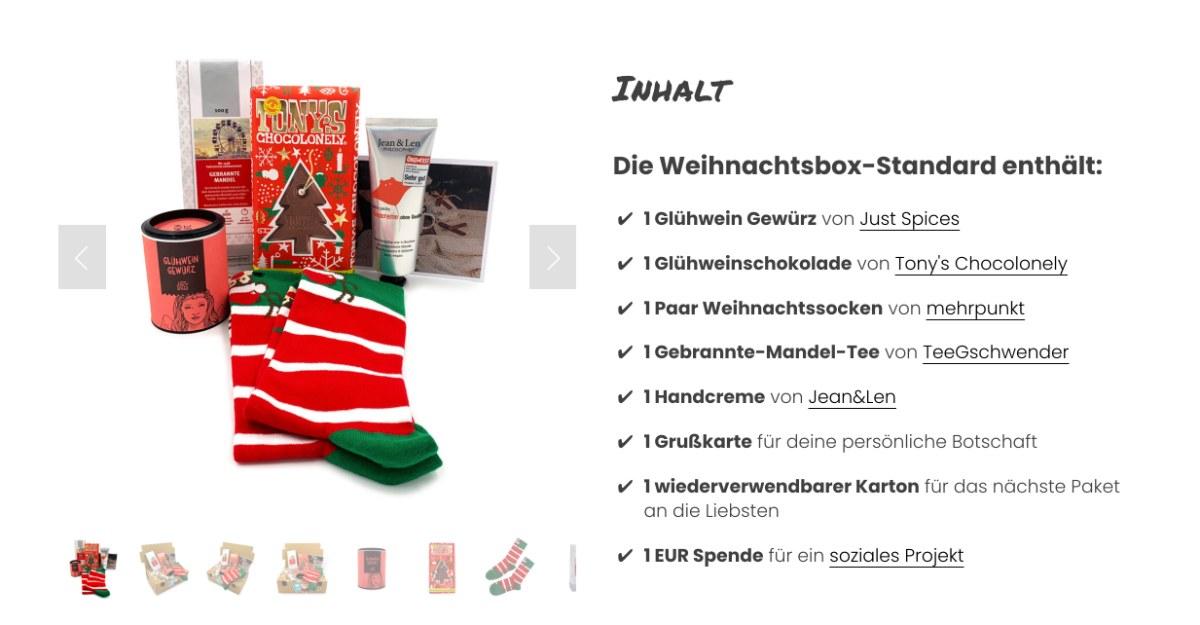 Weihnachtsbox Standard | mehrbox