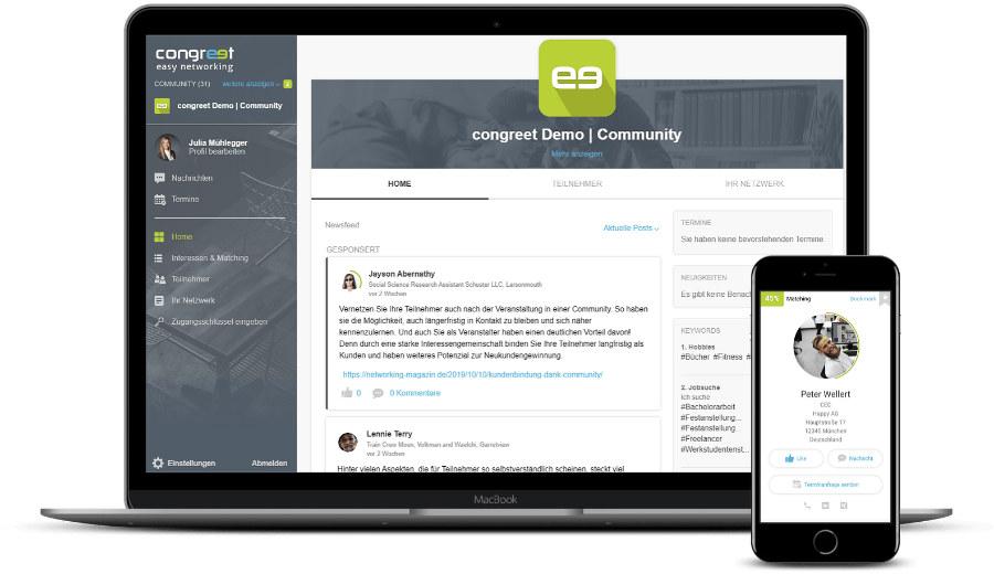 congreet: Community-Plattform